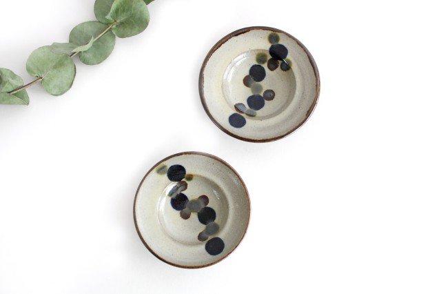 リム小皿 連ドット 陶器 mug やちむん 画像2