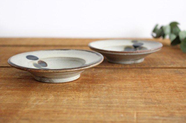 リム小皿 連ドット 陶器 mug やちむん 画像4