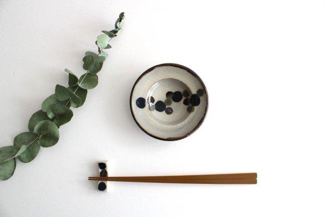 リム小皿 連ドット 陶器 mug やちむん 画像5