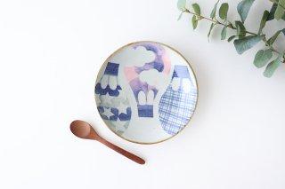 気球 中皿 陶器 相澤かなえ商品画像