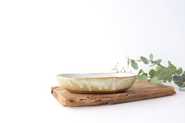 雲 楕円皿 【A】 陶器 相澤かなえ 画像2