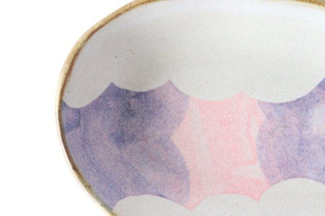 雲 楕円皿 【A】 陶器 相澤かなえ 画像3