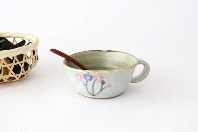花柄 スープマグ 陶器 相澤かなえ
