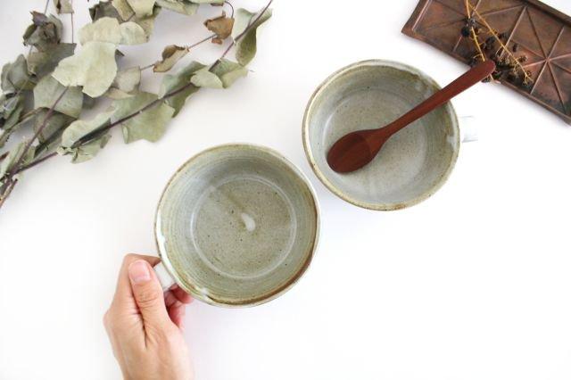花柄 スープマグ 陶器 相澤かなえ 画像2