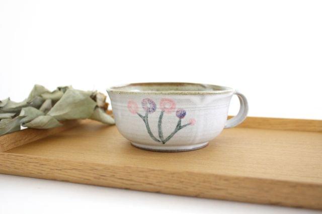 花柄 スープマグ 陶器 相澤かなえ 画像5