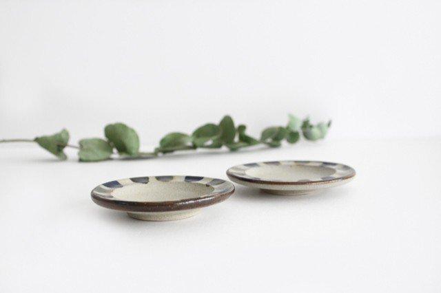 小皿 3色ドット 陶器 mug やちむん 画像2