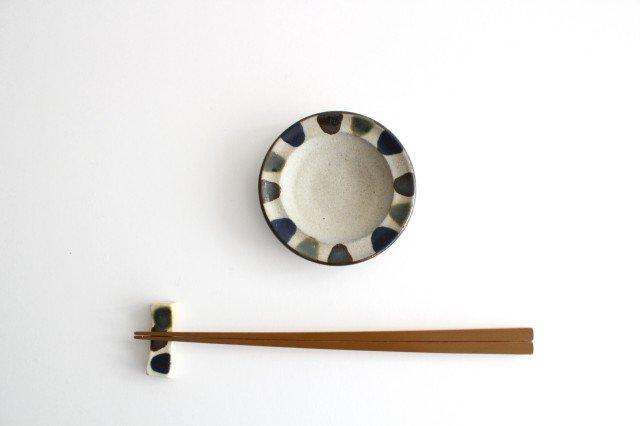 小皿 3色ドット 陶器 mug やちむん 画像4