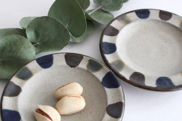 小皿 3色ドット 陶器 mug やちむん 画像5
