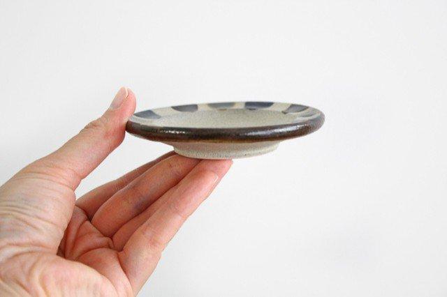 小皿 3色ドット 陶器 mug やちむん 画像6
