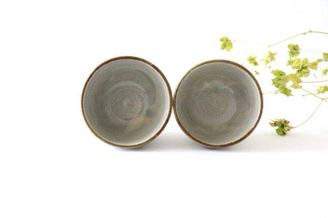そばちょこカップ 連ドット 陶器 mug やちむん 画像3