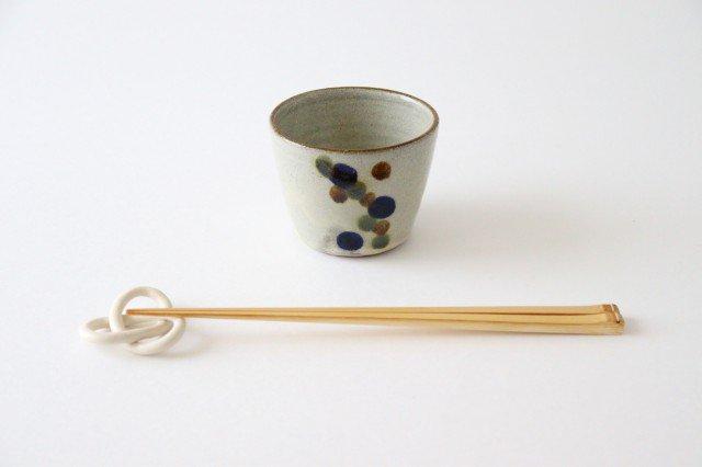 そばちょこカップ 連ドット 陶器 mug やちむん 画像5