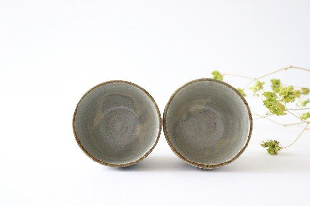 そばちょこカップ デイゴ 陶器 mug やちむん 画像2