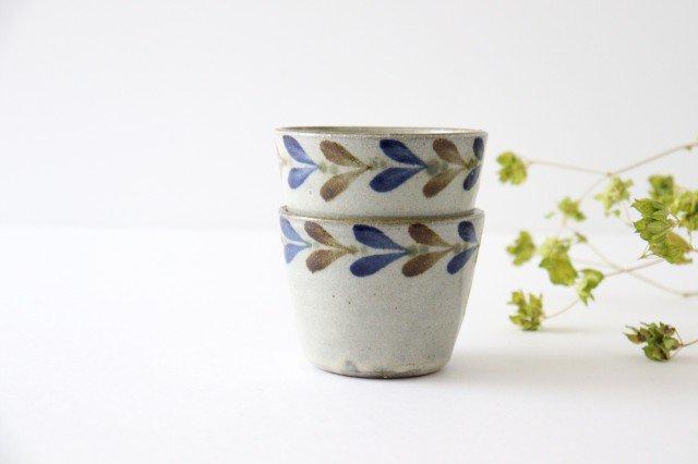 そばちょこカップ デイゴ 陶器 mug やちむん 画像3