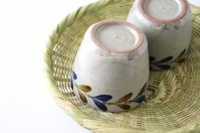 そばちょこカップ デイゴ 陶器 mug やちむん 画像4