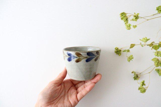 そばちょこカップ デイゴ 陶器 mug やちむん 画像6