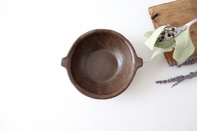 キャラメリゼブラウン スープボウル 陶器 木のね