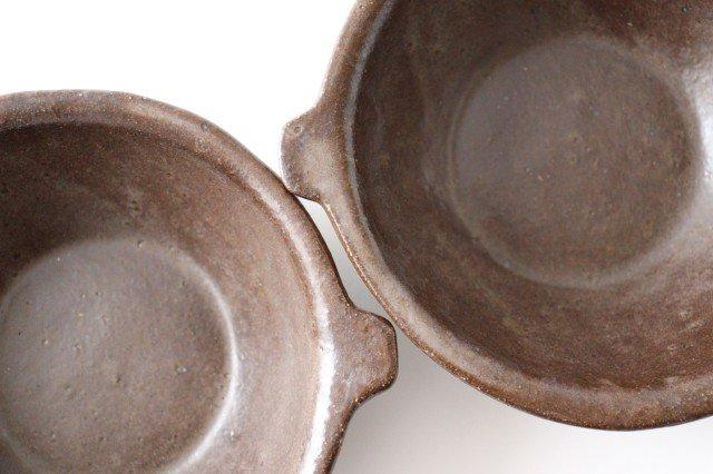 キャラメリゼブラウン スープボウル 陶器 木のね 画像2