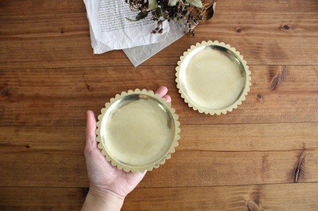 花の皿 真鍮 守田詠美 画像3