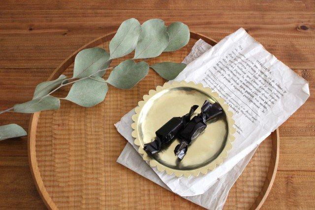 花の皿 真鍮 守田詠美 画像5