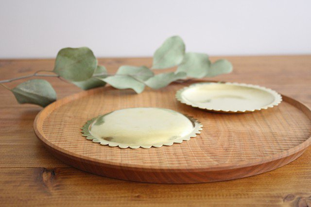 花の皿 真鍮 守田詠美 画像6