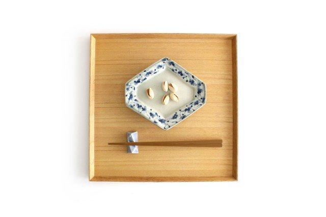 ひし形皿 花唐草紋 陶器 石井桃子 画像6