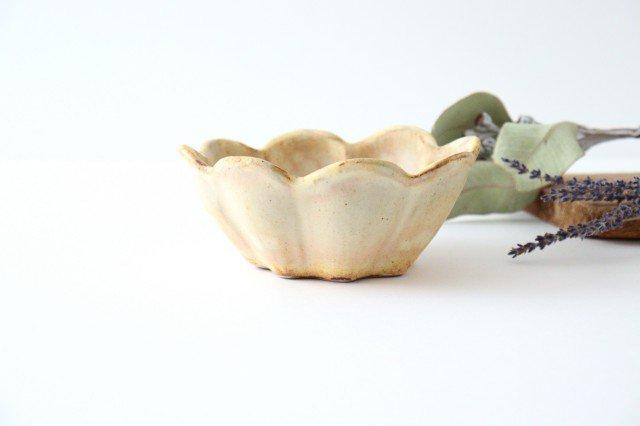 粉福 花ボウル 陶器 木のね