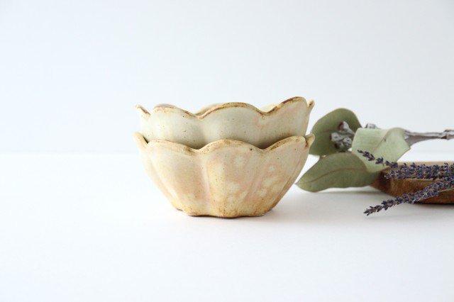 粉福 花ボウル 陶器 木のね 画像3