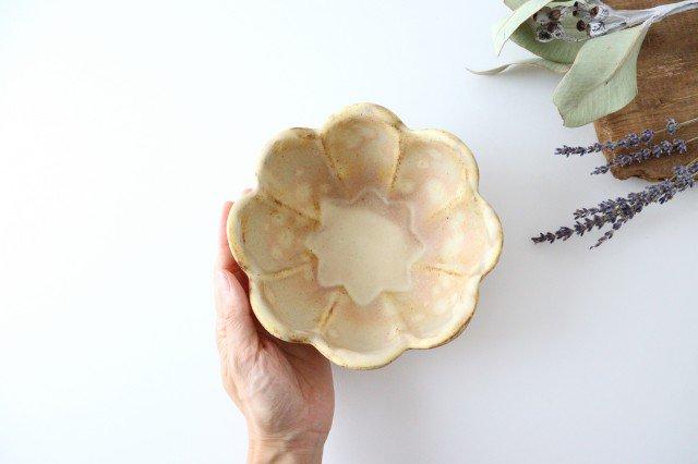 粉福 花ボウル 陶器 木のね 画像4