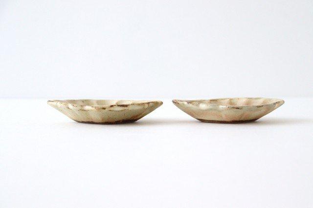 粉福 花ひし豆小皿 陶器 木のね 画像2