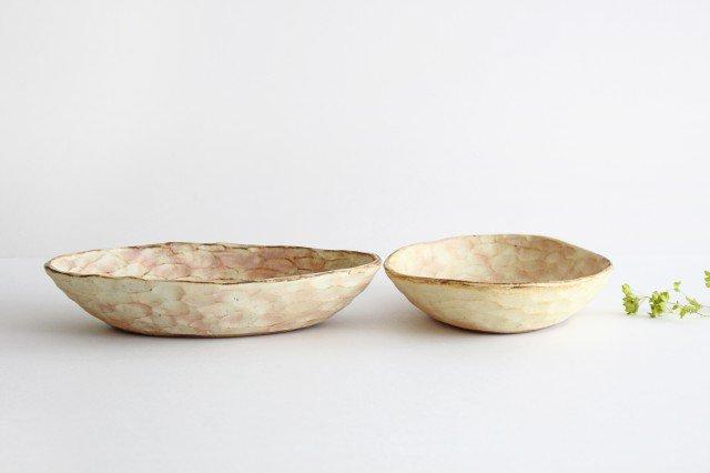 粉福 楕円皿 パスタ皿 陶器 木のね 画像3