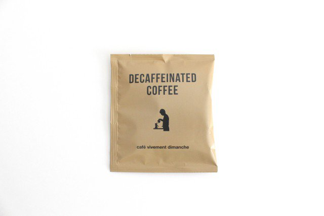 Cap on Cup Coffee デカフェコーヒー 5バッグ入り カフェ・ヴィヴモン・ディモンシュ 画像5