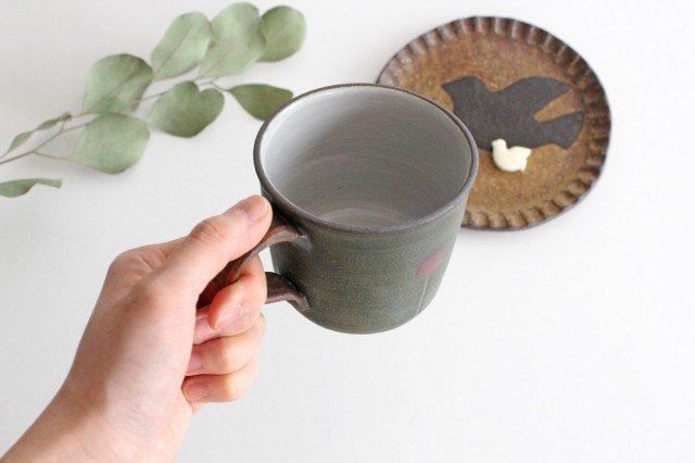 バルーンマグカップ 陶器 工房ことりの やちむん 画像2