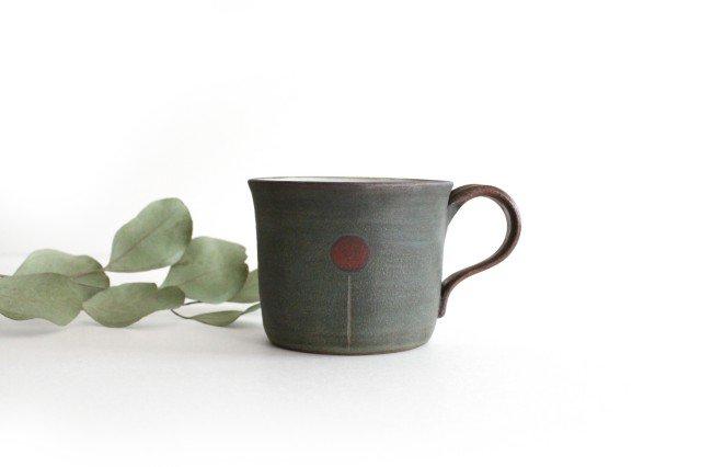 バルーンマグカップ 陶器 工房ことりの やちむん 画像6