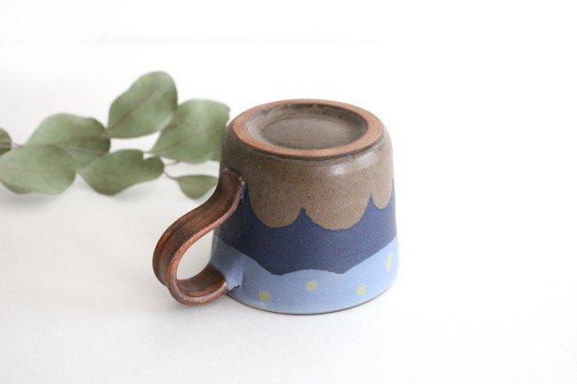 三日月マグカップ 陶器 工房ことりの やちむん 画像3