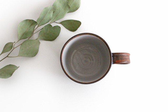 三日月マグカップ 陶器 工房ことりの やちむん 画像5