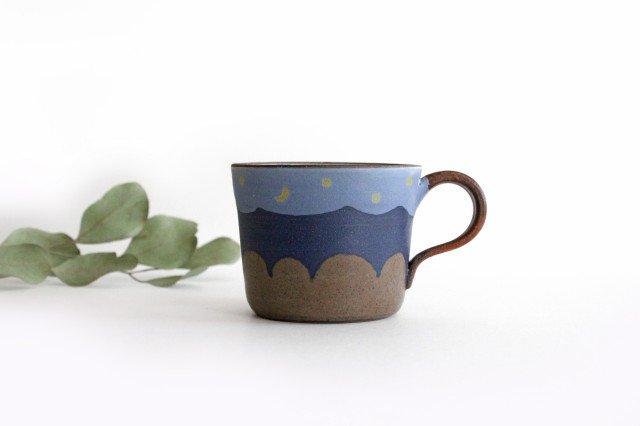 三日月マグカップ 陶器 工房ことりの やちむん 画像6