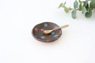 ことりの豆皿 ドット 陶器 工房ことりの やちむん商品画像