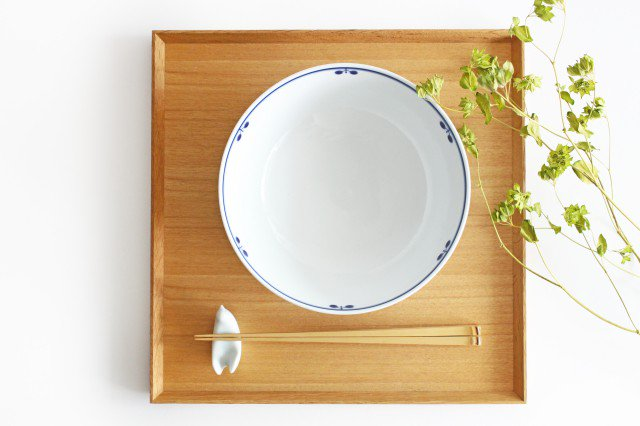 ボウル L ブルームリース 磁器 白山陶器 波佐見焼 画像3