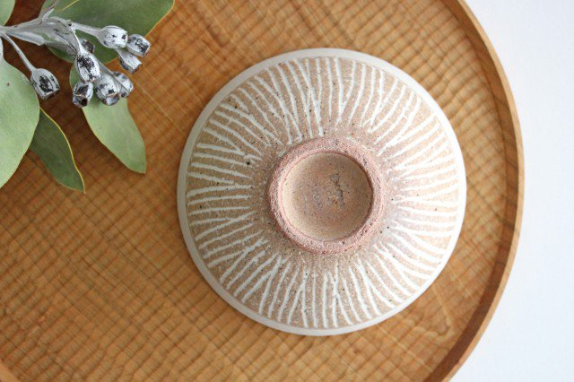 飯碗 ナチュラル 陶器 松葉象がん 美濃焼 画像3