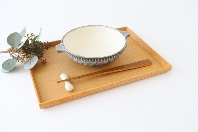 スープカップ 黒 陶器 小鯖美保子 画像5