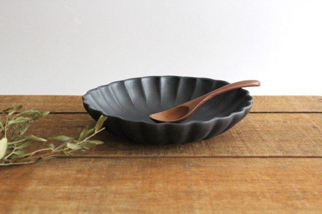 リンカ 大 チャコールブラック 陶器 わかさま陶芸 益子焼 画像2
