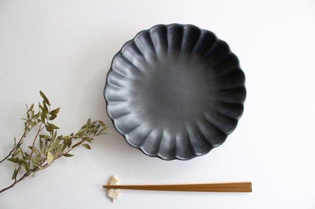 リンカ 大 チャコールブラック 陶器 わかさま陶芸 益子焼 画像4