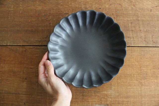 リンカ 大 チャコールブラック 陶器 わかさま陶芸 益子焼 画像6