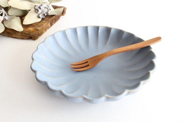 リンカ 大 ブルーグレー 陶器 わかさま陶芸 益子焼
