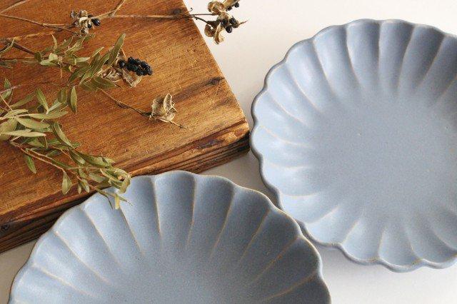 リンカ 大 ブルーグレー 陶器 わかさま陶芸 益子焼 画像4