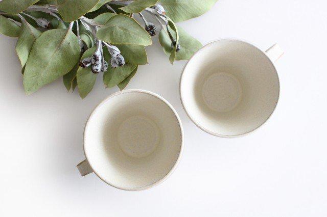 マグカップ 白 陶器 小鯖美保子 画像5