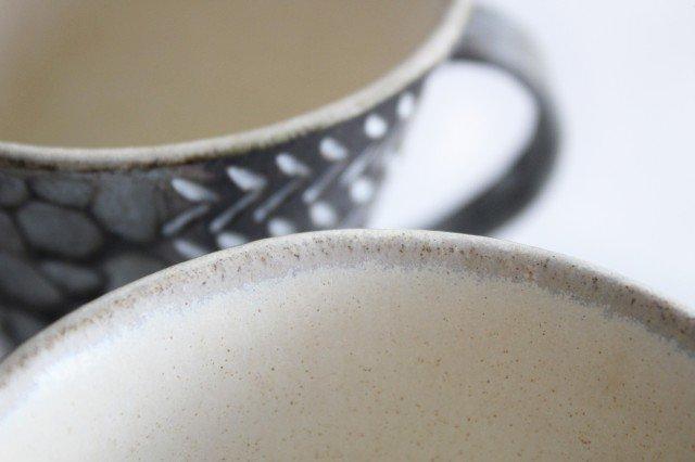 マグカップ 黒 陶器 小鯖美保子 画像4