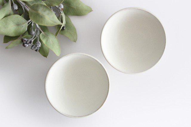 飯碗 白 陶器 小鯖美保子 画像2