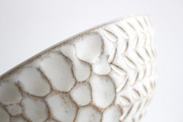 飯碗 白 陶器 小鯖美保子 画像4