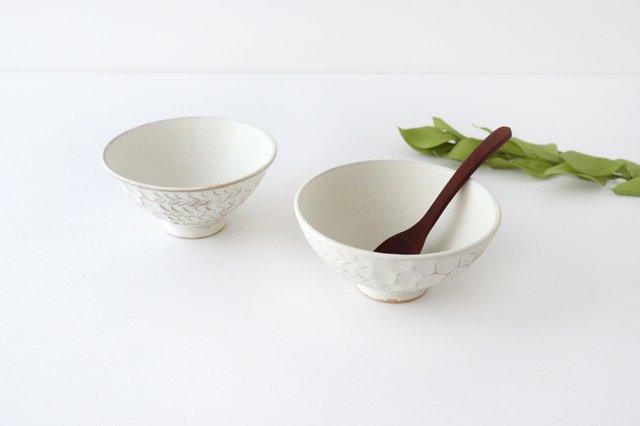 飯碗 白 陶器 小鯖美保子 画像6